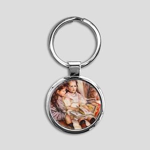 Renoir Round Keychain