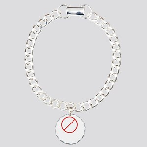 drink and derive wh Charm Bracelet, One Charm