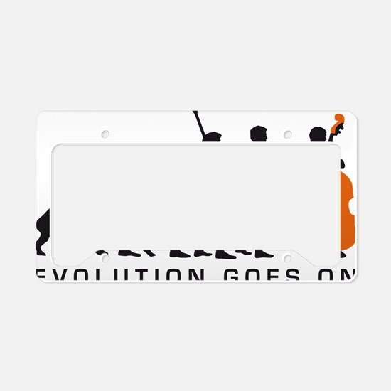 Evolution bass 2c B License Plate Holder