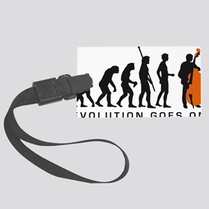 Evolution bass 2c B Large Luggage Tag