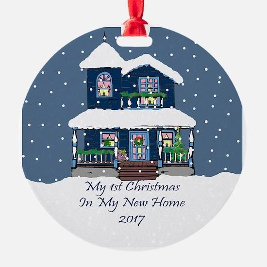 2017 My 1St Christmas House Ornament