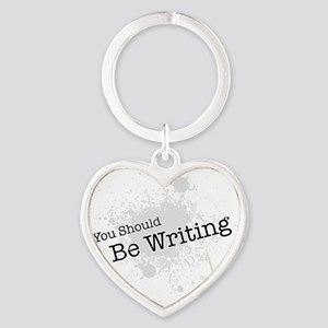 be Heart Keychain