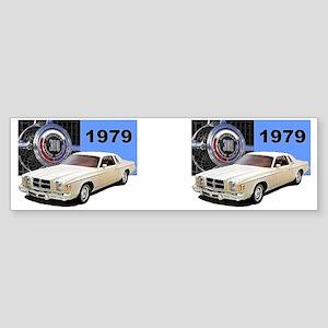 1979 Chrysler 300 MUG Design Sticker (Bumper)