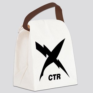 ctr_blackT Canvas Lunch Bag