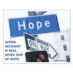 Autism Hope Poster