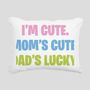 cute Rectangular Canvas Pillow