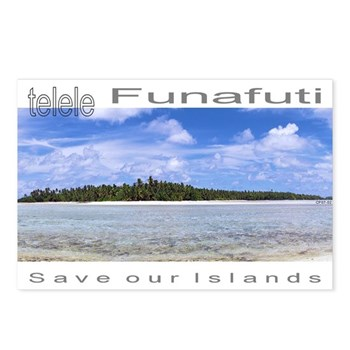 Tuvalu Postcards (Package of 8)