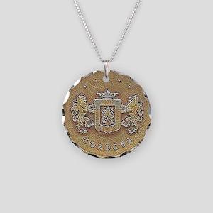 Chrysler Cordoba Emblem Desi Necklace Circle Charm