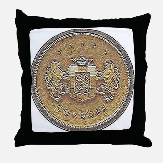 Chrysler Cordoba Emblem Design Throw Pillow