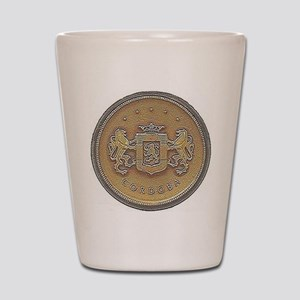 Chrysler Cordoba Emblem Design Shot Glass