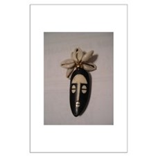 The Cowrie Mask Large Poster
