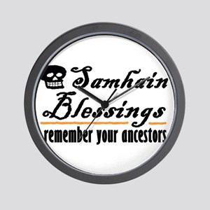 samhain one Wall Clock