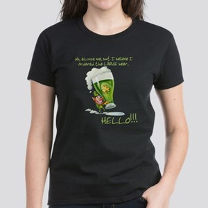 Ordered a LARGE beer Women's Dark T-Shirt