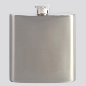 KNUCKLE UP WHITE Flask