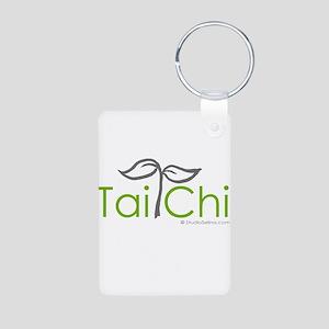 Tai Chi Growth 8 Aluminum Photo Keychain