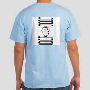 Mens Dumbell Light T-Shirt (black)