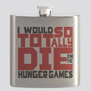 Tragic Tribute Flask