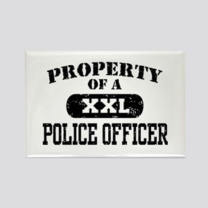 Property of a Police officer Rectangle Magnet