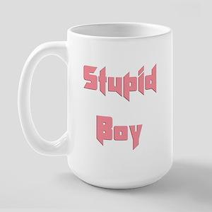 Stupid Boy Large Mug