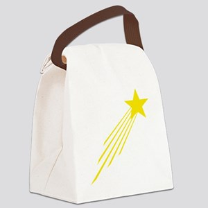 shooting star yellow Canvas Lunch Bag