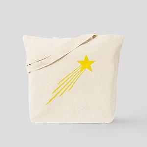 shooting star yellow Tote Bag