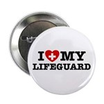 I Love My Lifeguard Button