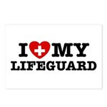I Love My Lifeguard Postcards (Package of 8)