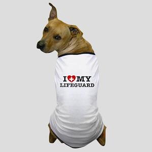 I Love My Lifeguard Dog T-Shirt
