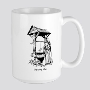 """My Every Wish"" Large Mug"