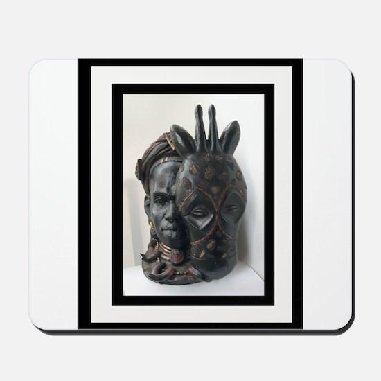 The (Male) Mask/Mask Mousepad