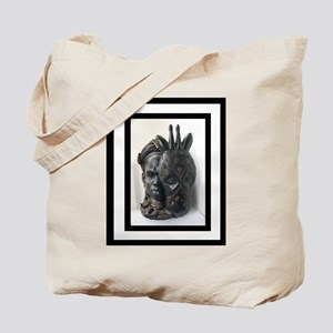 c516e48137 African Mask Canvas Tote Bags - CafePress