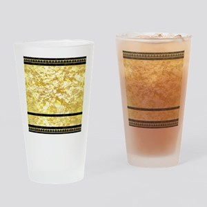 goldpatternshowerduvet Drinking Glass