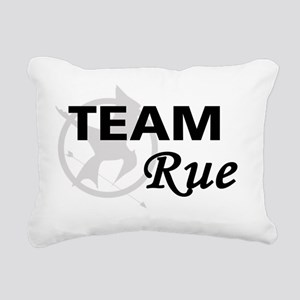 Team Rue Rectangular Canvas Pillow