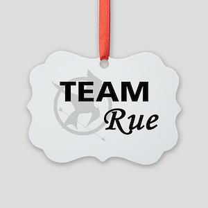 Team Rue Picture Ornament