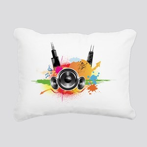 twenty-ten Rectangular Canvas Pillow