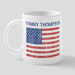 TOMMY THOMPSON (Vintage flag) Mug