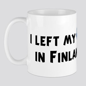 Left my heart in Finland Mug