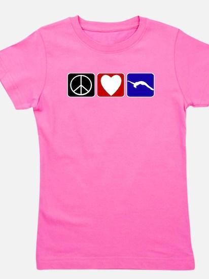 Peace Love Tumble T-Shirt