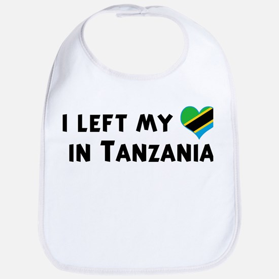 Left my heart in Tanzania Bib