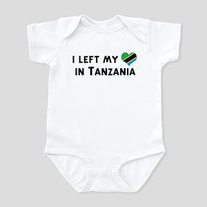 Left my heart in Tanzania Infant Bodysuit
