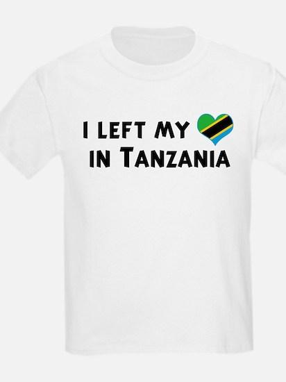 Left my heart in Tanzania Kids T-Shirt