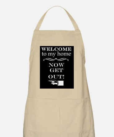 getout_black(mini) Apron