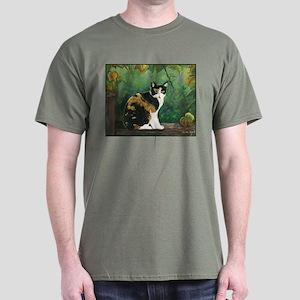 Calico Cat Dark T-Shirt