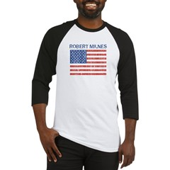 ROBERT MILNES (Vintage flag) Baseball Jersey