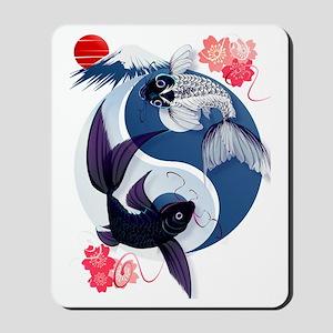 Yin Yang Koi Trans Mousepad