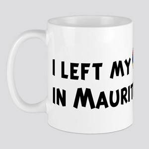 Left my heart in Mauritius Mug