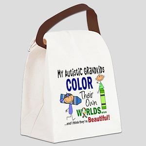 D Grandkids Canvas Lunch Bag