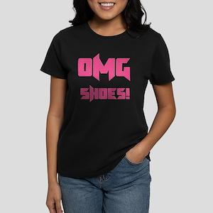 OMG Shoes 1.0 Women's Dark T-Shirt