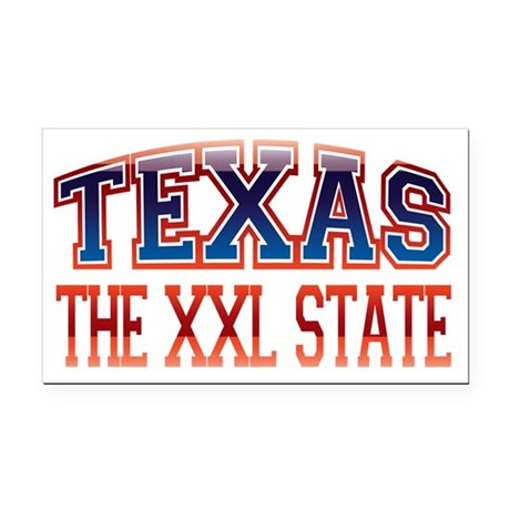 Texas XXL Rectangle Car Magnet
