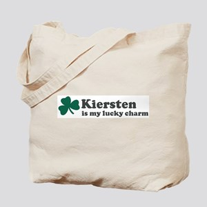 Kiersten is my lucky charm Tote Bag